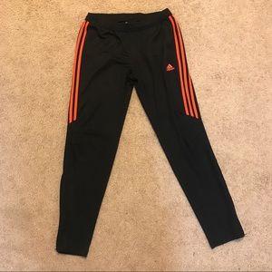 Women's adidas black Climacool track pants  large